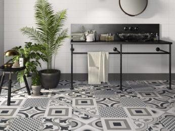 cementine decorate pavimento