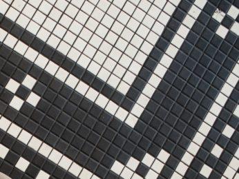 cementine a quadratini effetto mosaico (monocolori)
