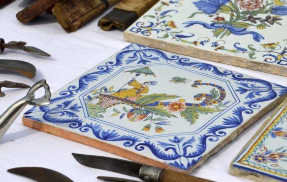 cementine di renzo ceramiche a piacenza, dettaglio
