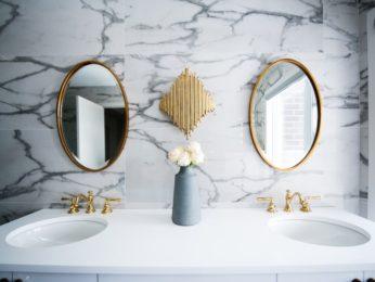 doppio lavello in bagno