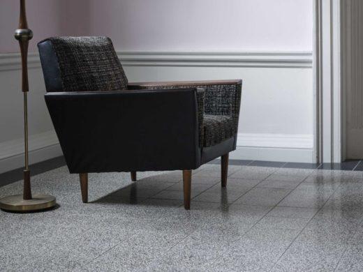 pavimento in graniglia stile anni 60