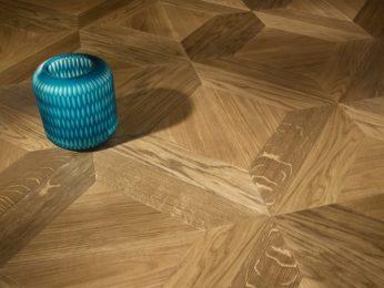 pavimento in legno a disegno