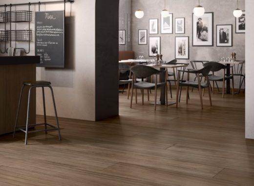 pavimento resiliente in un ristorante a piacenza