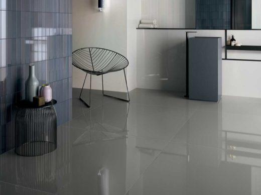 piastrelle di ceramica per pavimento, arredamento luminoso e moderno