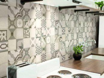 piastrelle decorate da cucina