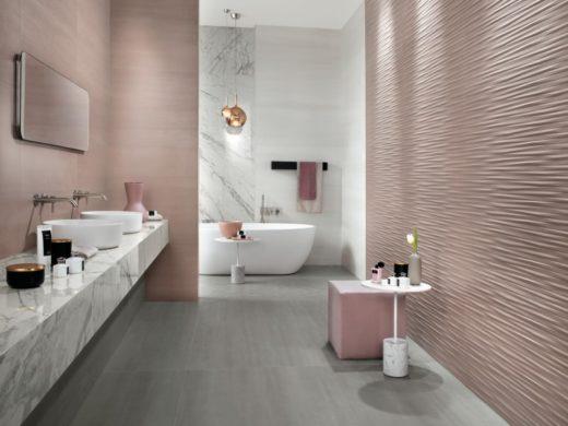 bagno moderno, rivestimento moderno a piacenza