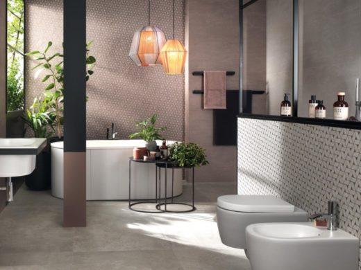 rivestimento mosaico per bagno elegante a piacenza