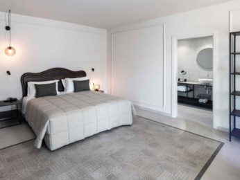 tappeto di cementine camera da letto