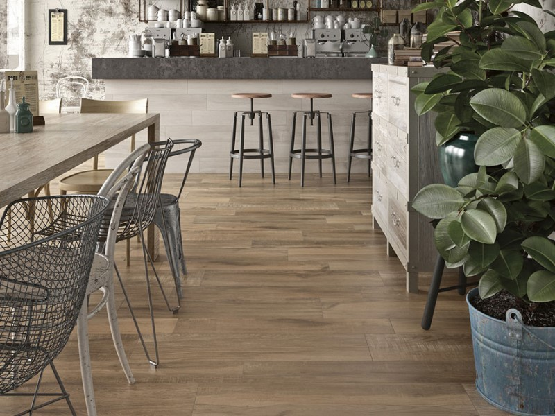 marron gres porcellanato effetto legno parquet